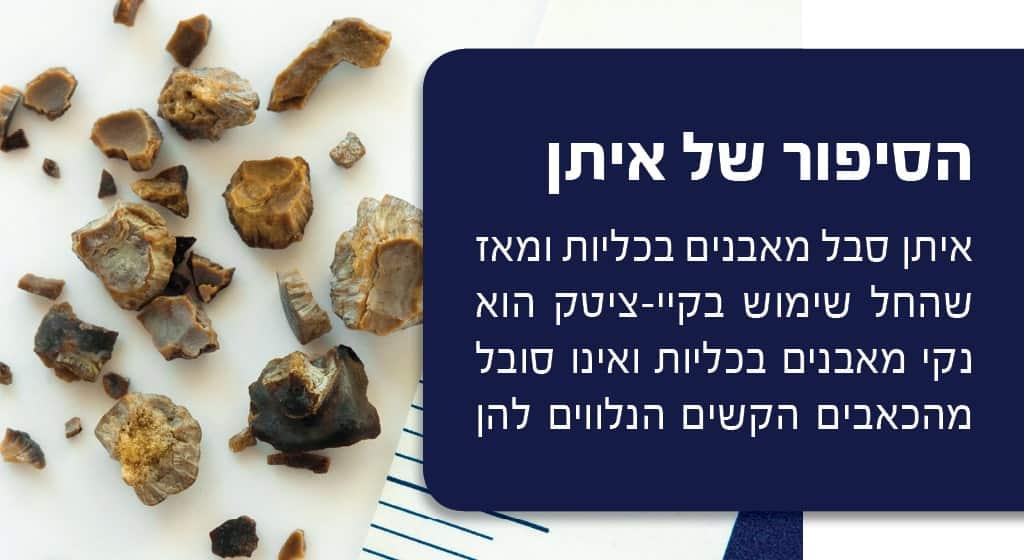 פתרון לאבנים בכליות